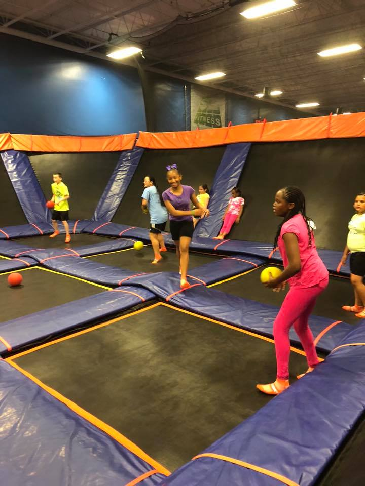 SkyZone Youth Event