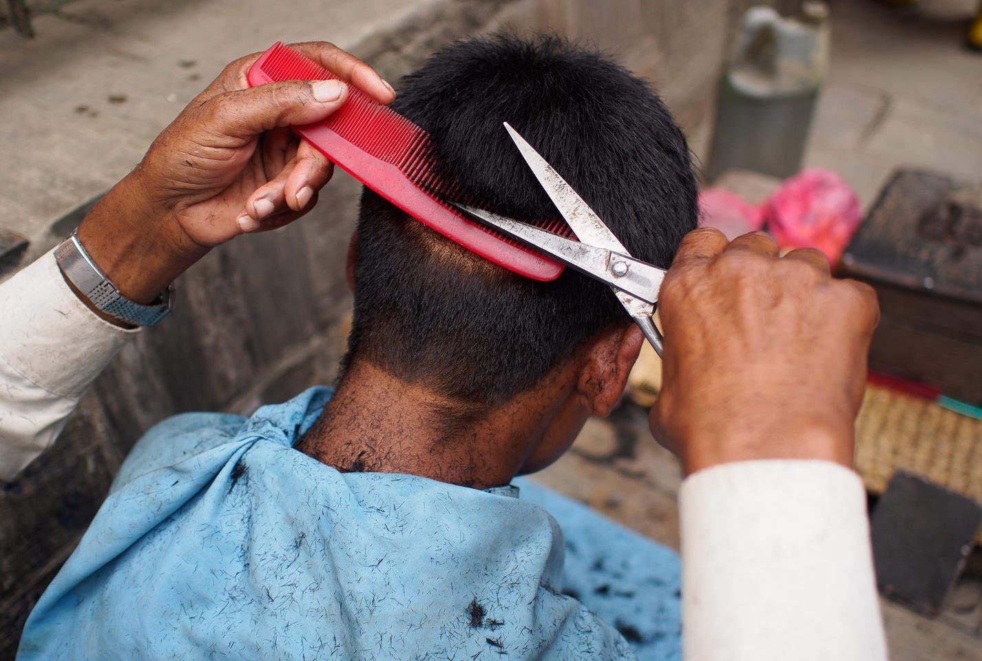 Nepali Barber