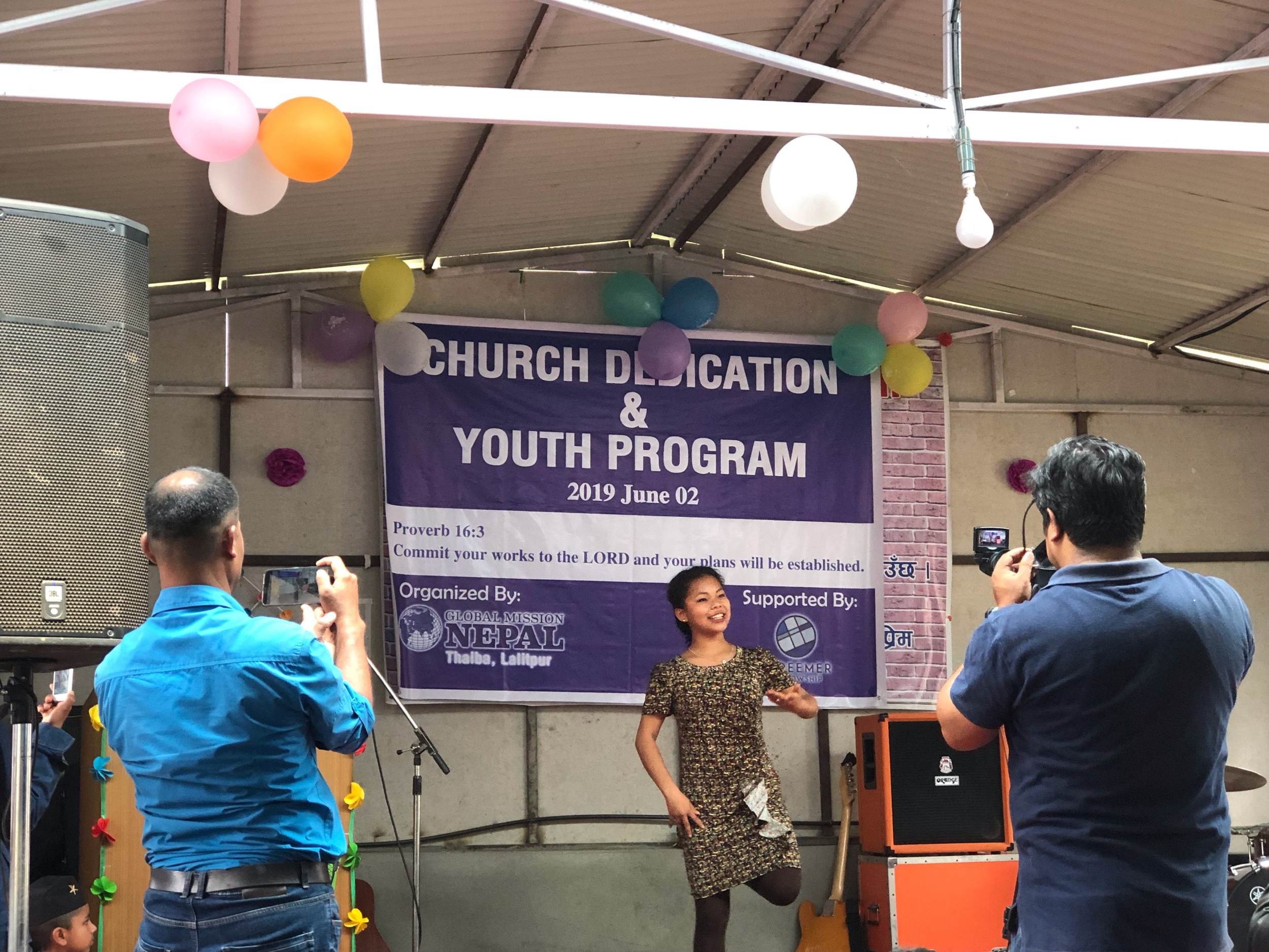 Global Mission Nepal Lalitpur Church Dedication and Youth Program
