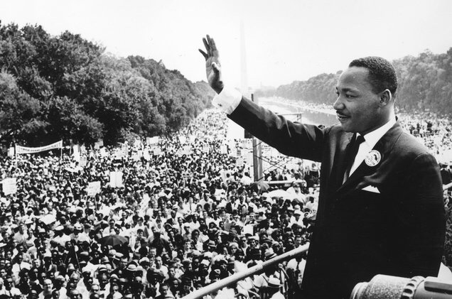 Martin Luther King in Washington D.C.