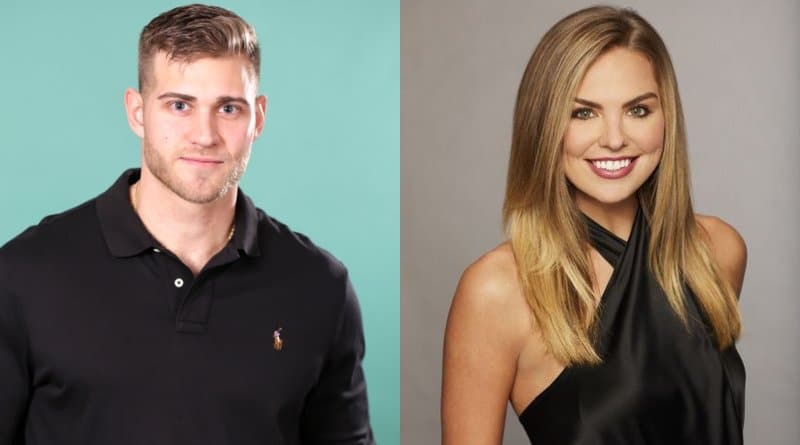 Luke Peters and Hannah Brown on the newest season of the Bachelorette