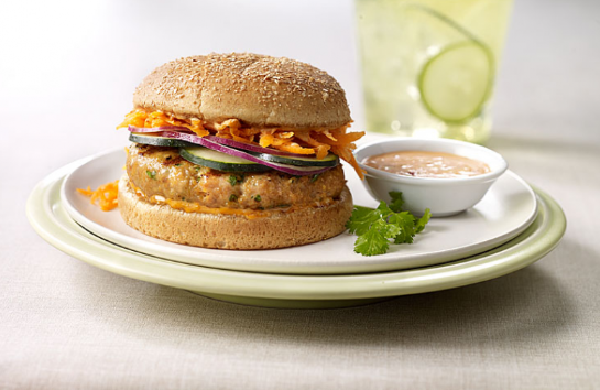 Sriracha Turkey Burger -