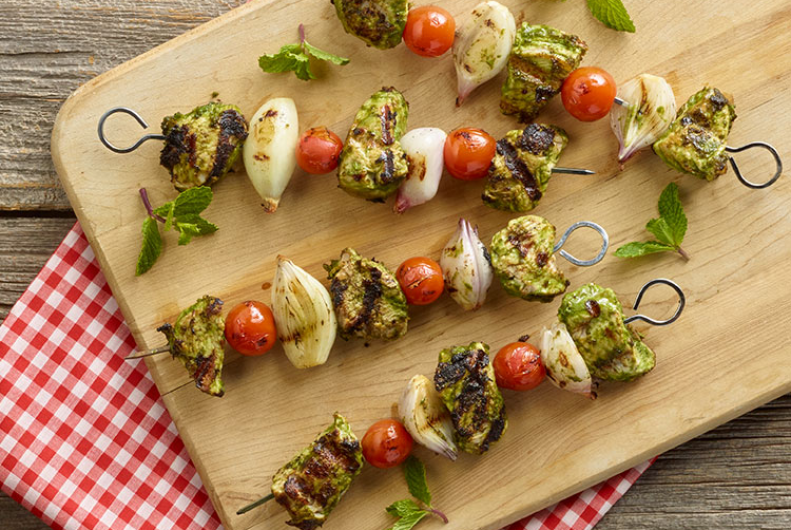Turkey Kabobs -