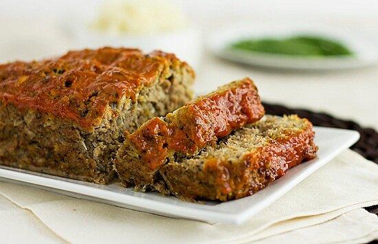 Turkey&Mushroom Meatloaf -