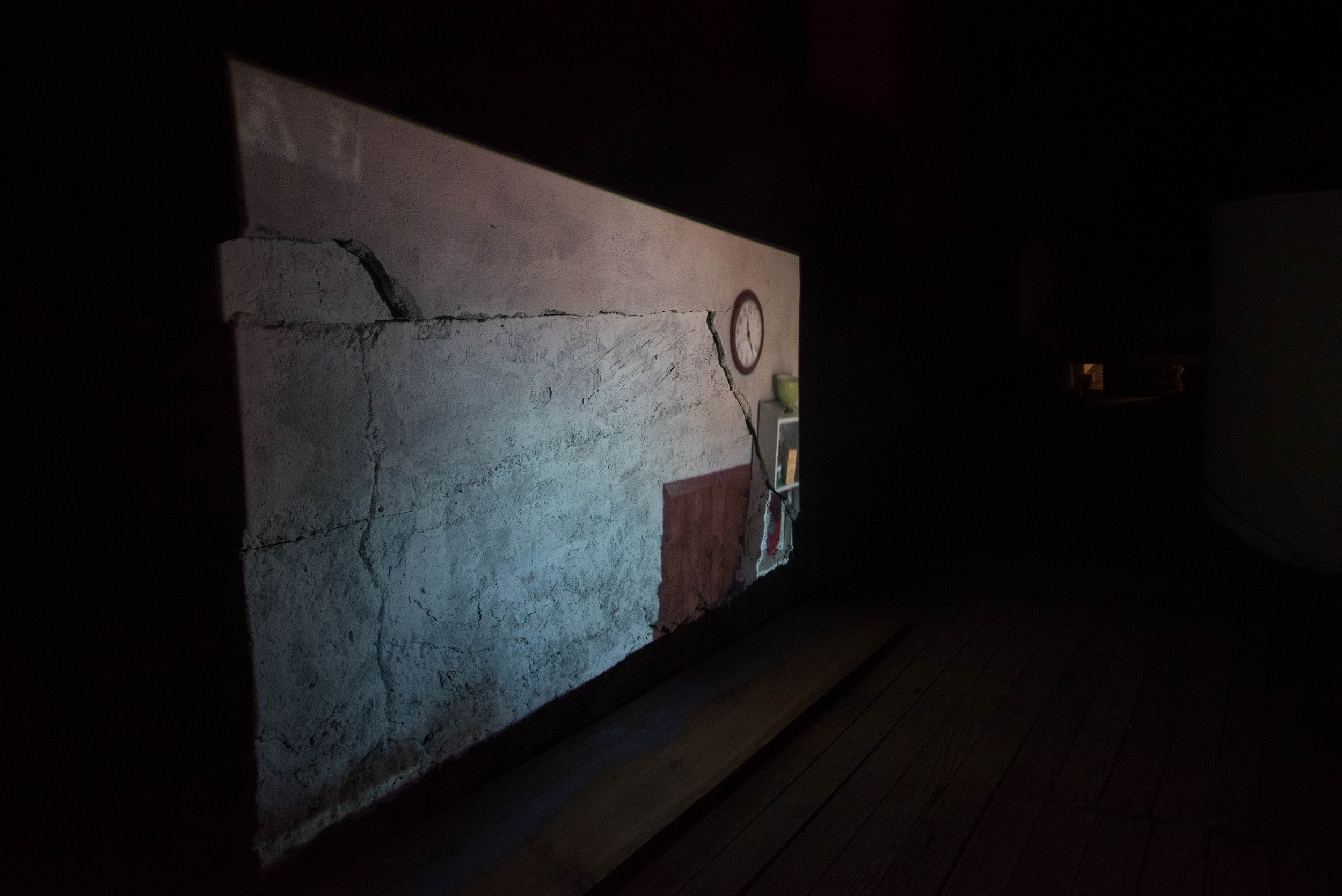 Projection on wall at Lyric.jpg