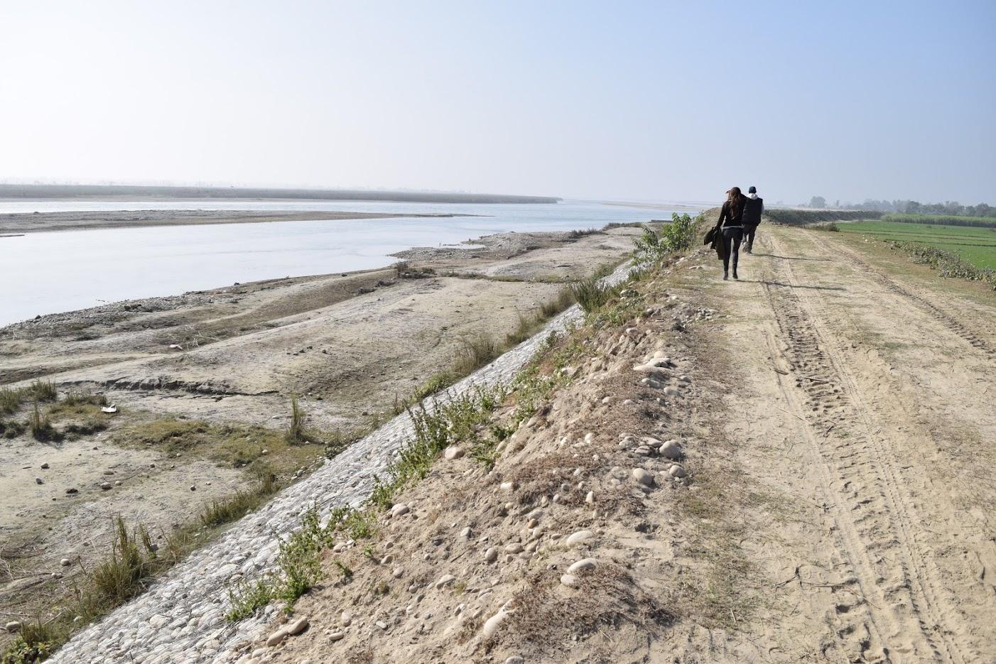 Scanning for Ganges River Dolphins along the Karnali River, Nepal