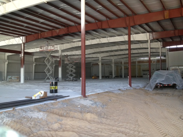 commercial warehouse ceiling
