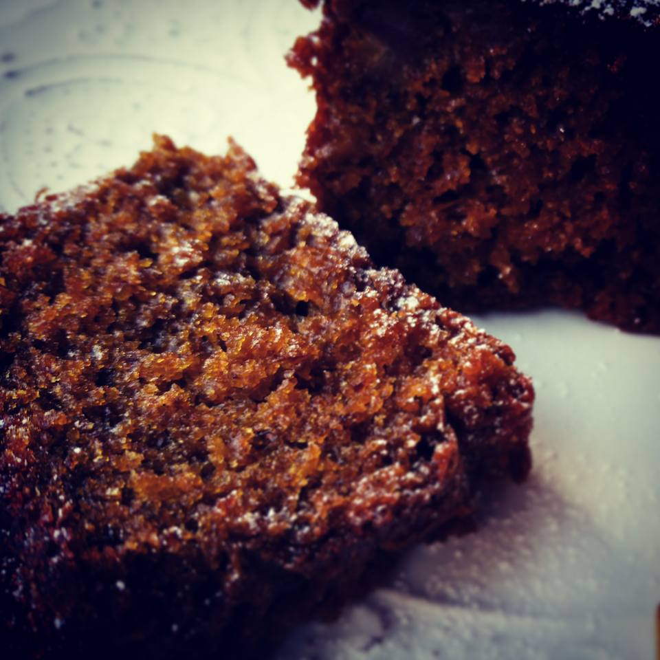Cakes baked in a Harrison Charcoal Oven posess a toffee-like crust as the sugar caramelises in the intense heat.
