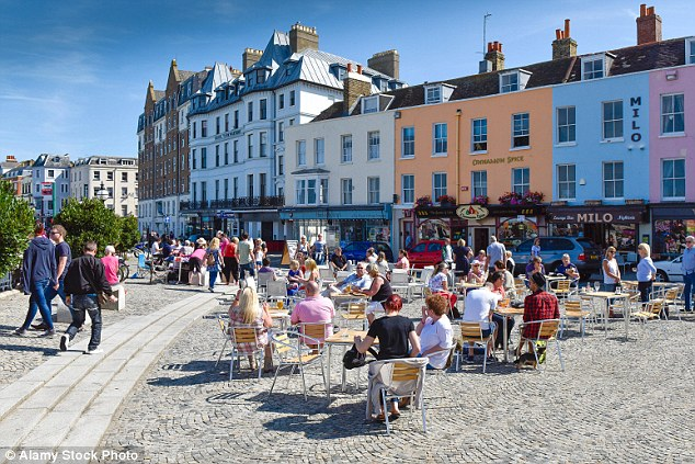 Margate old town.