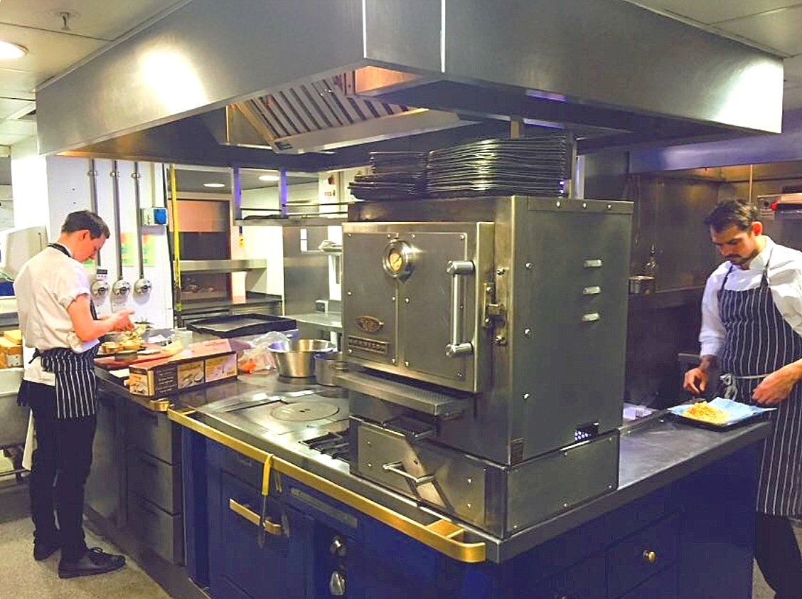 The Harrison charcoal oven takes centre stage in Richard Corrigan's Mayfair kitchen