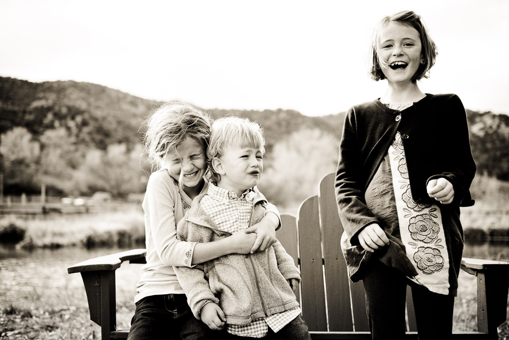 Campaign to End Camera Face - Emotional Group shot of kids