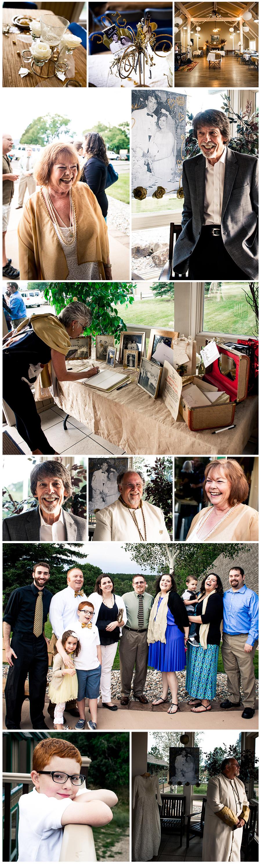 anniversary photos Bedingfield collage 1