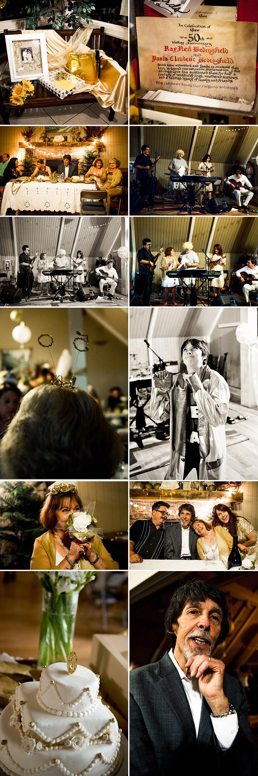 anniversary photos Bedingfield collage 13