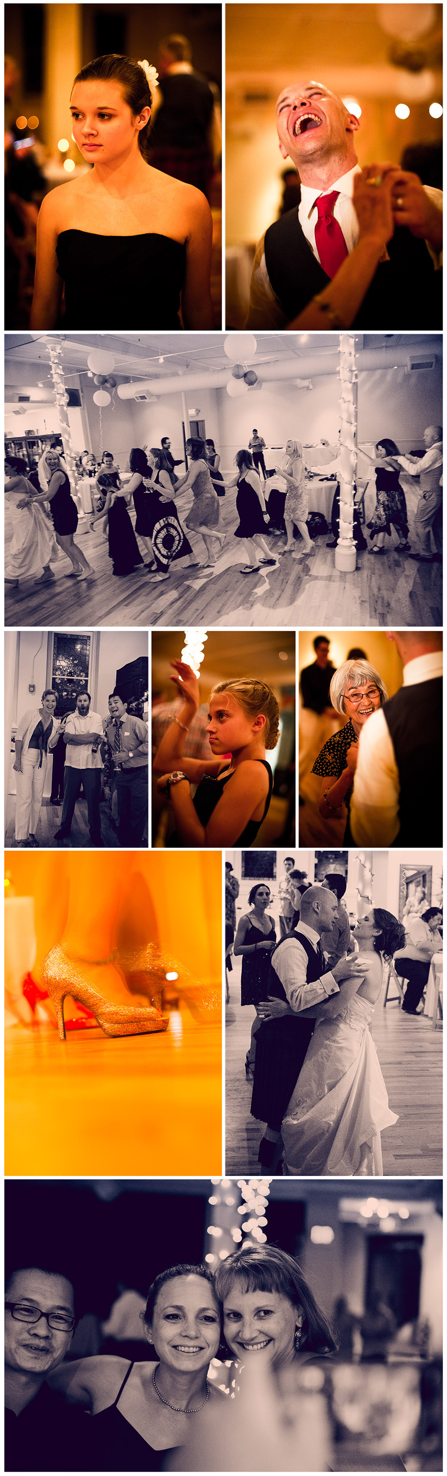 Kate and Ed's Wedding Collage