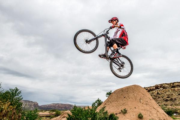 Mountain biking photo.