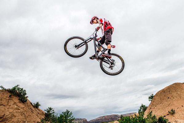 High school senior Enduro mountain bike photos