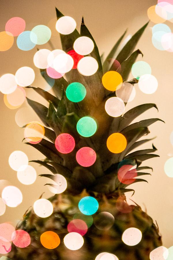 Pineapple and polka dots