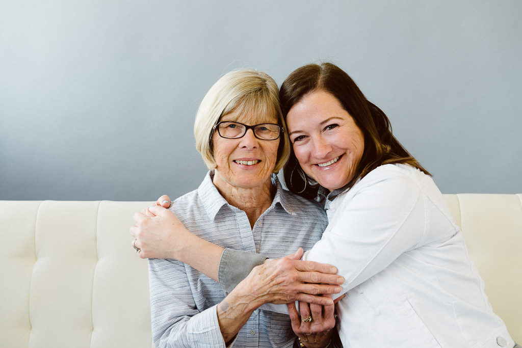 Gift for Mom - photo of woman with her mother in law