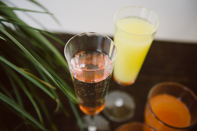 special mothers day treat - mimosas