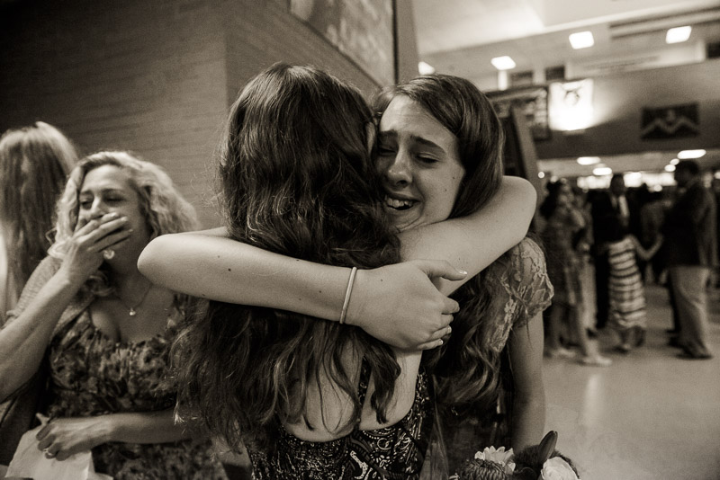 eighth grade continuation photos denver girl in emotional moment