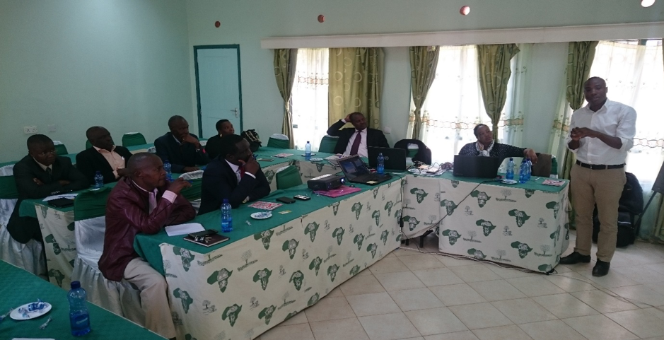 MoE and TSC officials training in Wote, Makueni. The MoE and TSC are integral partners in the implementation and oversight of iMlango programme.