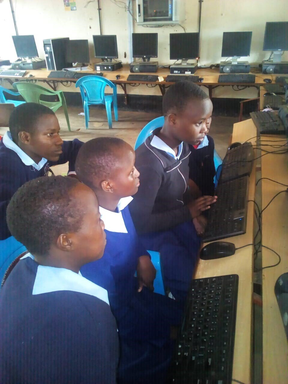 Students participating in the iMlango Junior Debaters Contest