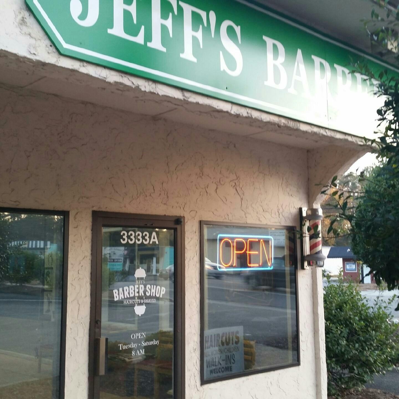 Jeff's Barbershop in Wilmington, NC