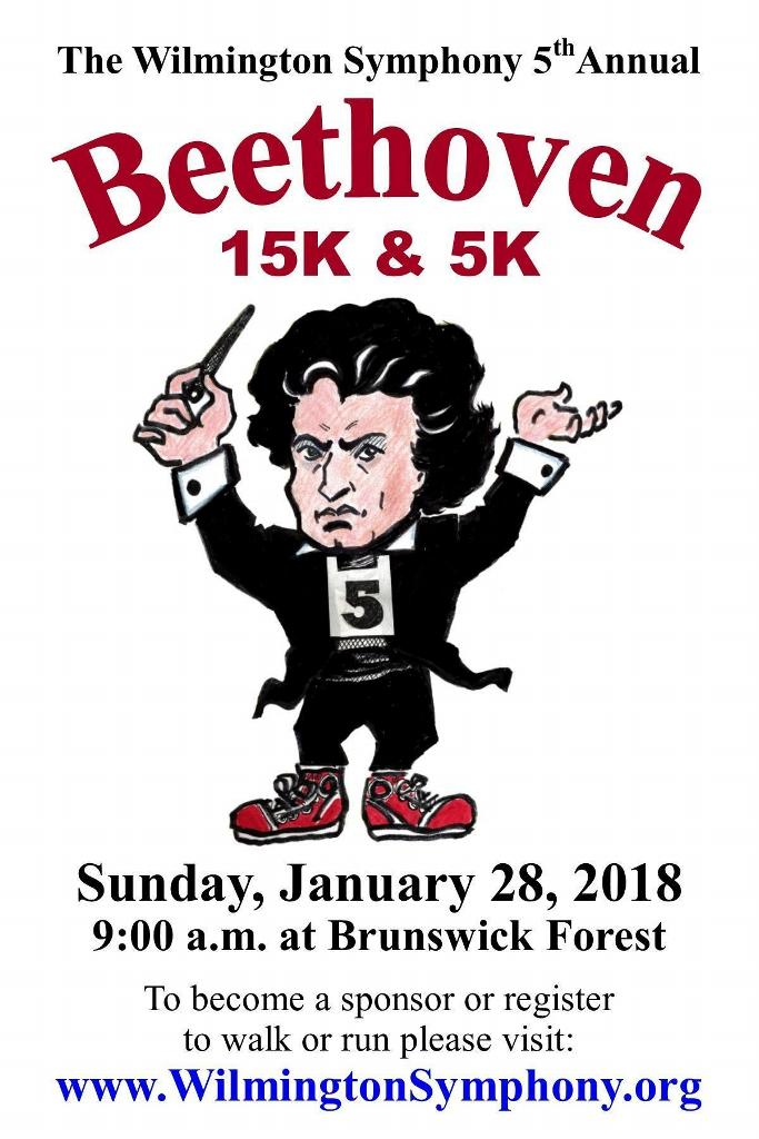 The 5th Annual Beethoven 15k/5k
