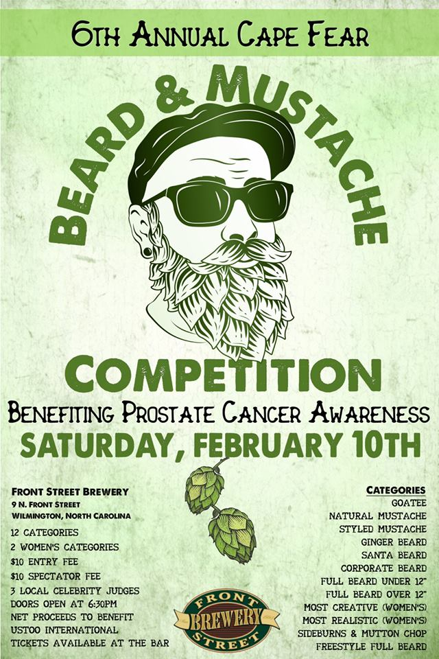 6th Annual Cape Fear Beard & Mustache Competition