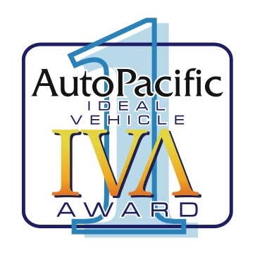 "IDEAL VEHICLE AWARD (IVA)   AutoPacific'™s IVAs measure the fusion between expectation, and reality. An ideal vehicle is one that meets owner's expectations for the product when they acquired it. AutoPacific's IVAs are quantitative gauges measuring how closely a vehicle matches an owner's expectations. The buyers who are least likely to want to change their vehicle; they are driving their ""ideal"" vehicle."