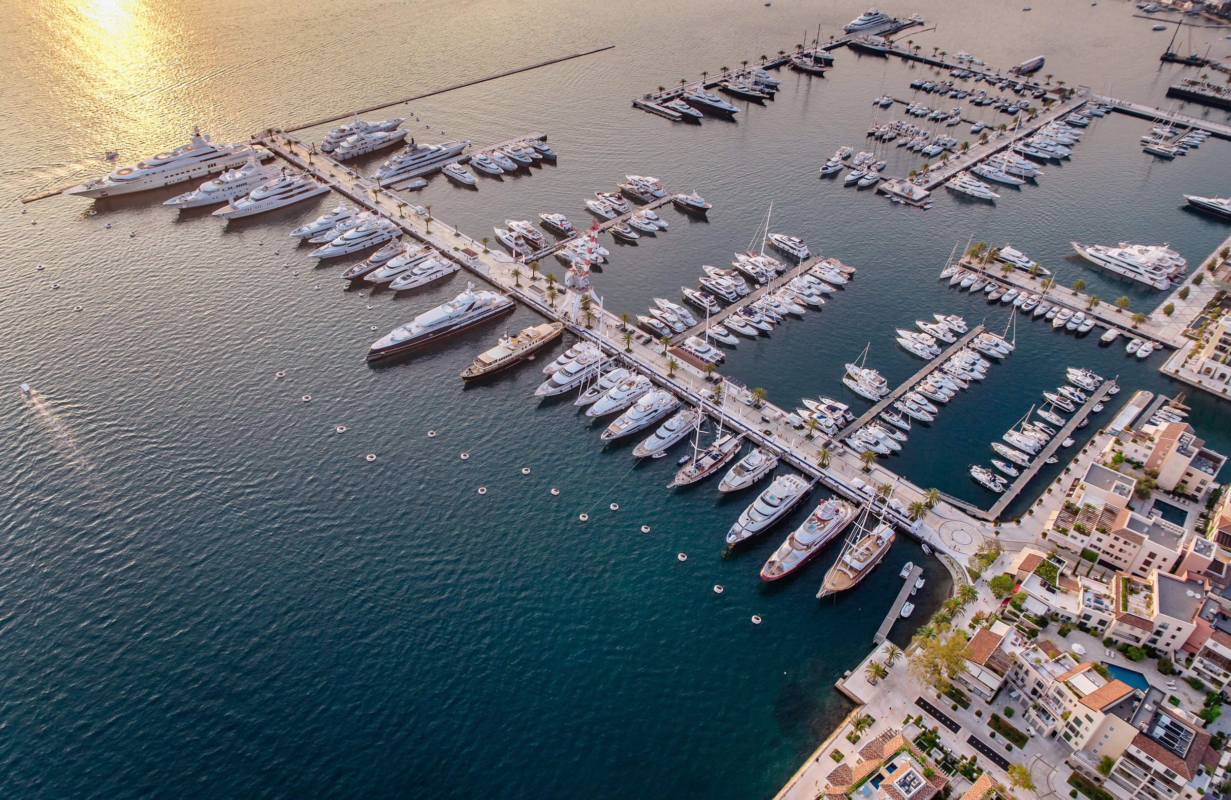 Location:  Tivat, Montenegro  Coordinates:  42.4324° N, 18.6937° E  Credentials:  450 berths. duty-free fuel, wine, and champagne. Multi-lingual marina team. On-site crew club.