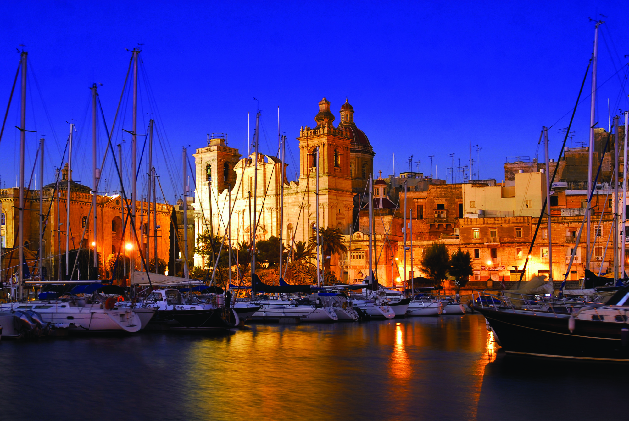 Location:  Valletta, Malta  Coordinates:  35.8881° N, 14.5205° E  Credentials:  240 Berths.