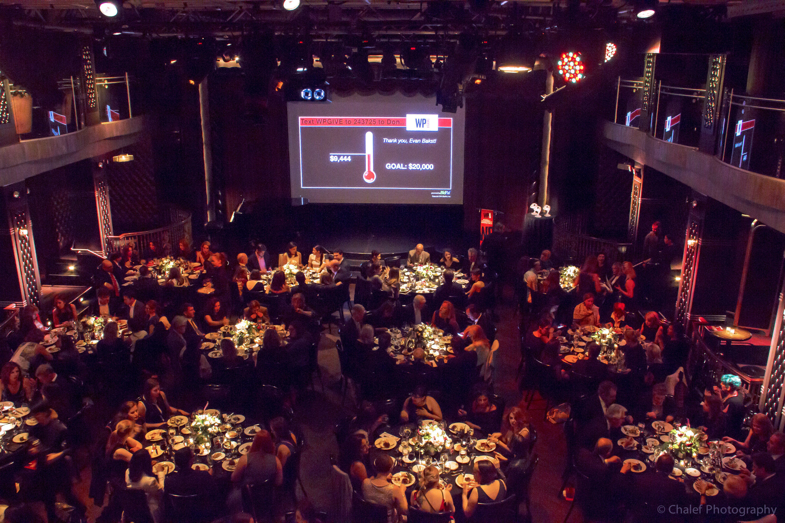 WP Theater, Annual Gala, Edison Ballroom