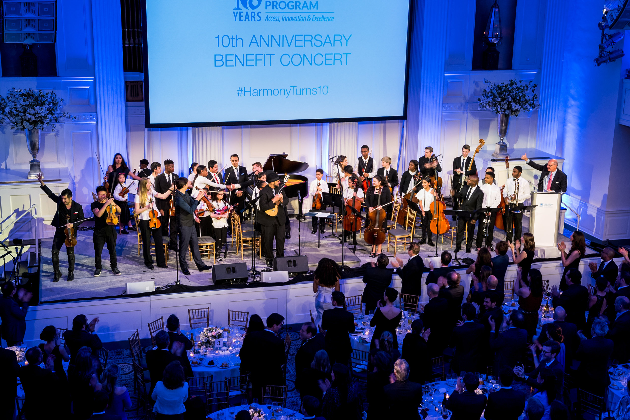 Harmony Program, 10th Anniversary Benefit Concert, 583 Park Avenue