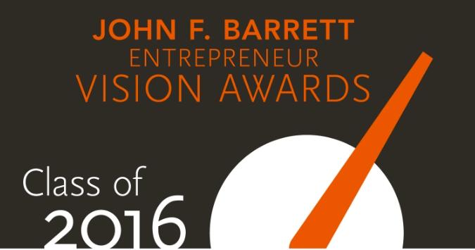 the john f. barrett entrepreneur vision awards- lead magazine sept. 2016