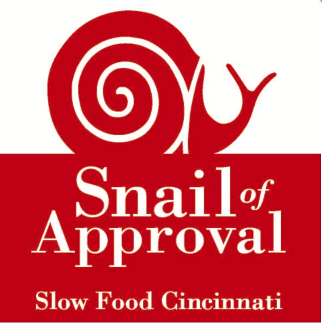 2016 snail of approval awards- slow food cincinnati sept. 2016