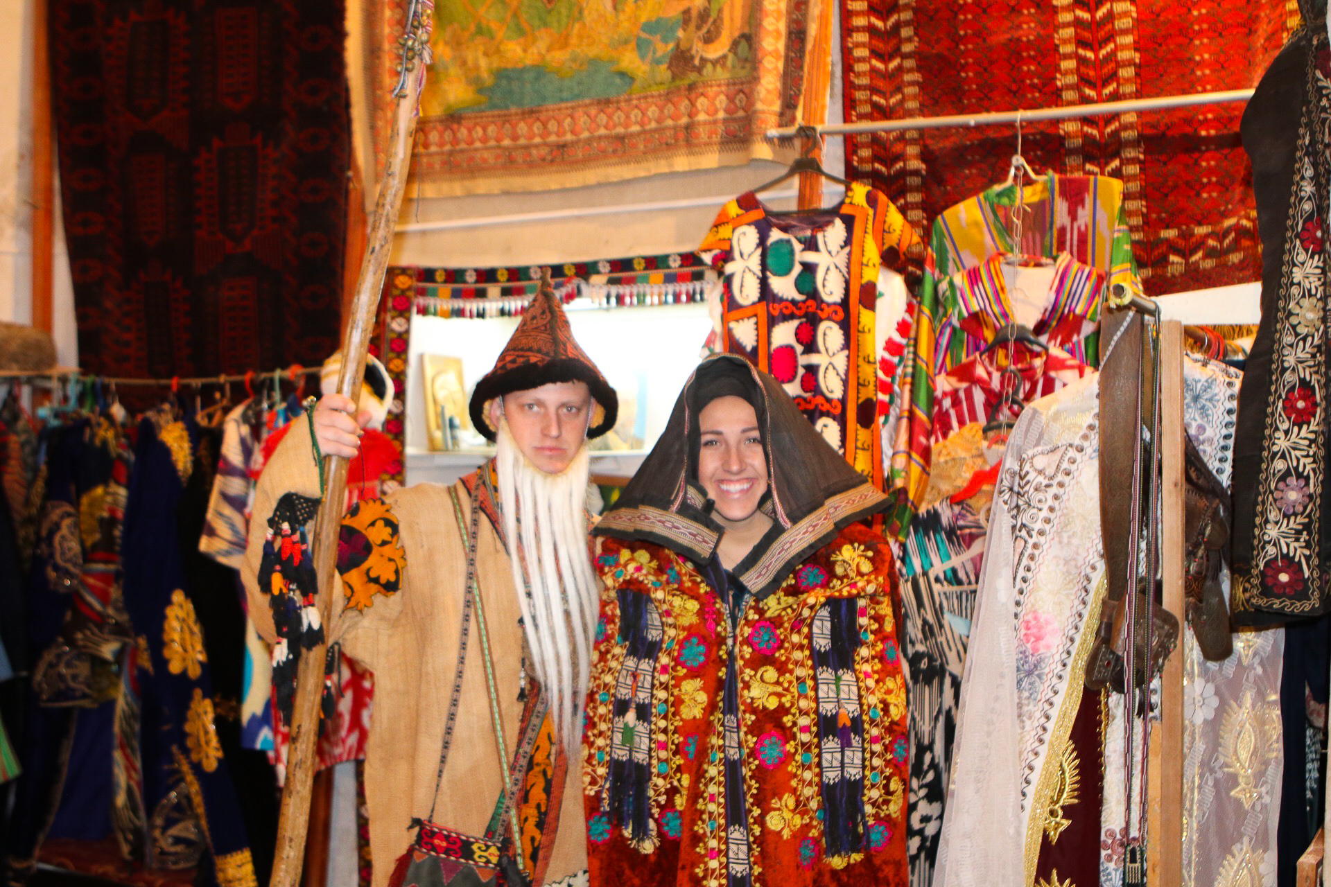 Traditional Uzbek Dress - The Adventure Decade