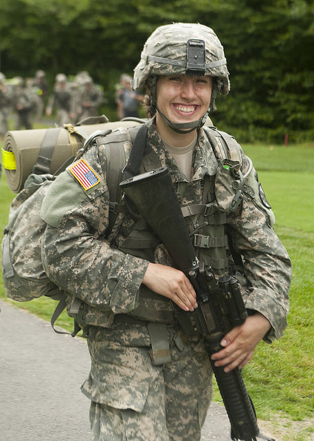 New Cadet Schmelzenbach. Cadet Basic Training. August, 2014.