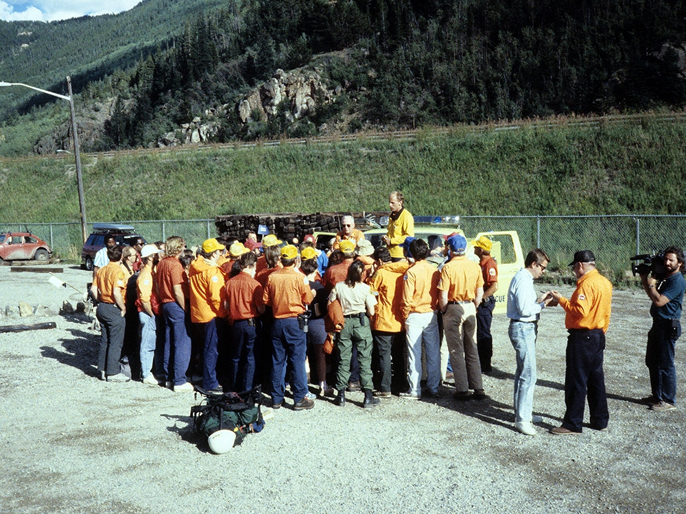 006 | AUG 14, 1988 - After sevens days, the search for Keith Reinhard is called off with no resolution. It was the largest search and rescue mission in Colorado's history.