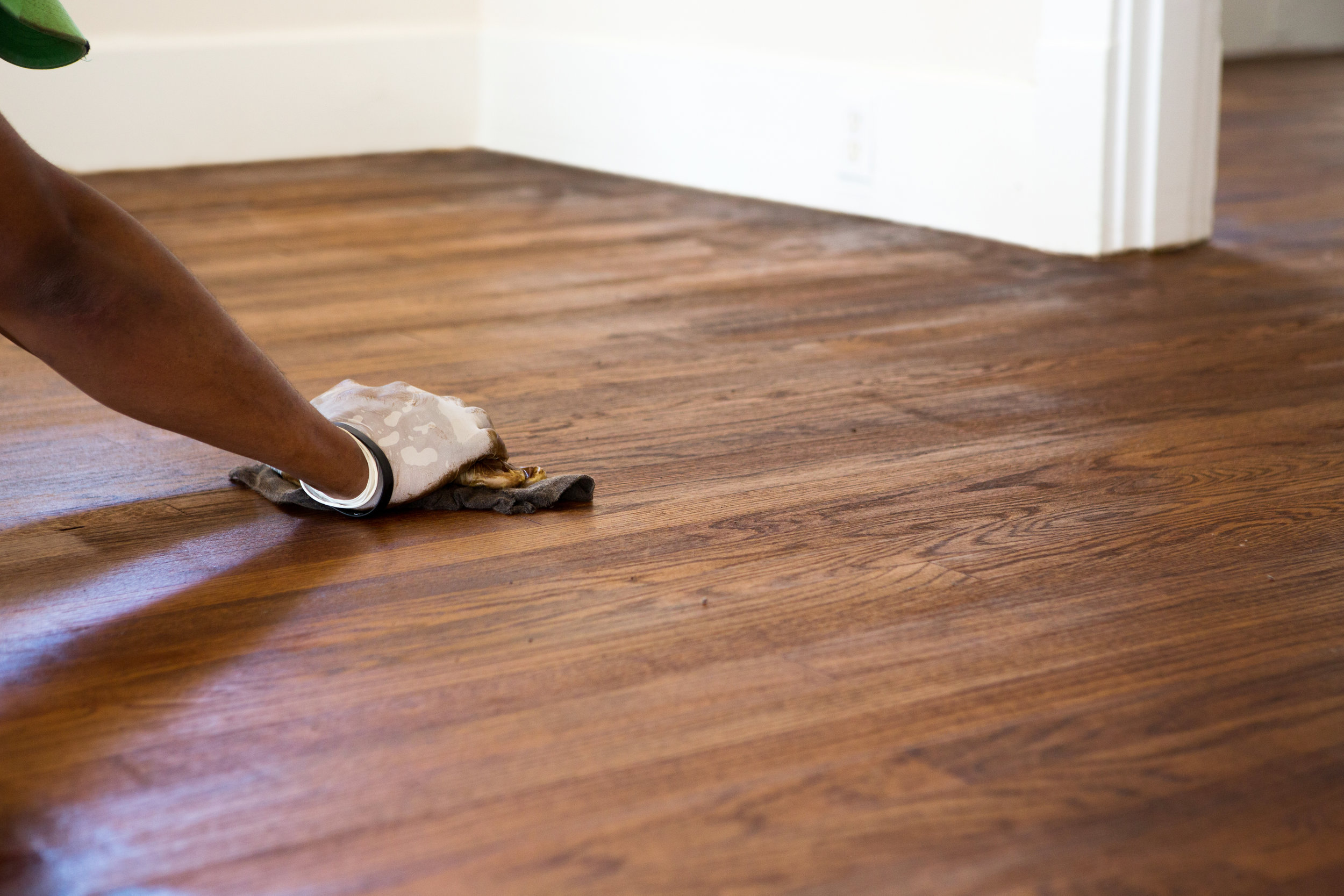 Sanding Down Wood Floors