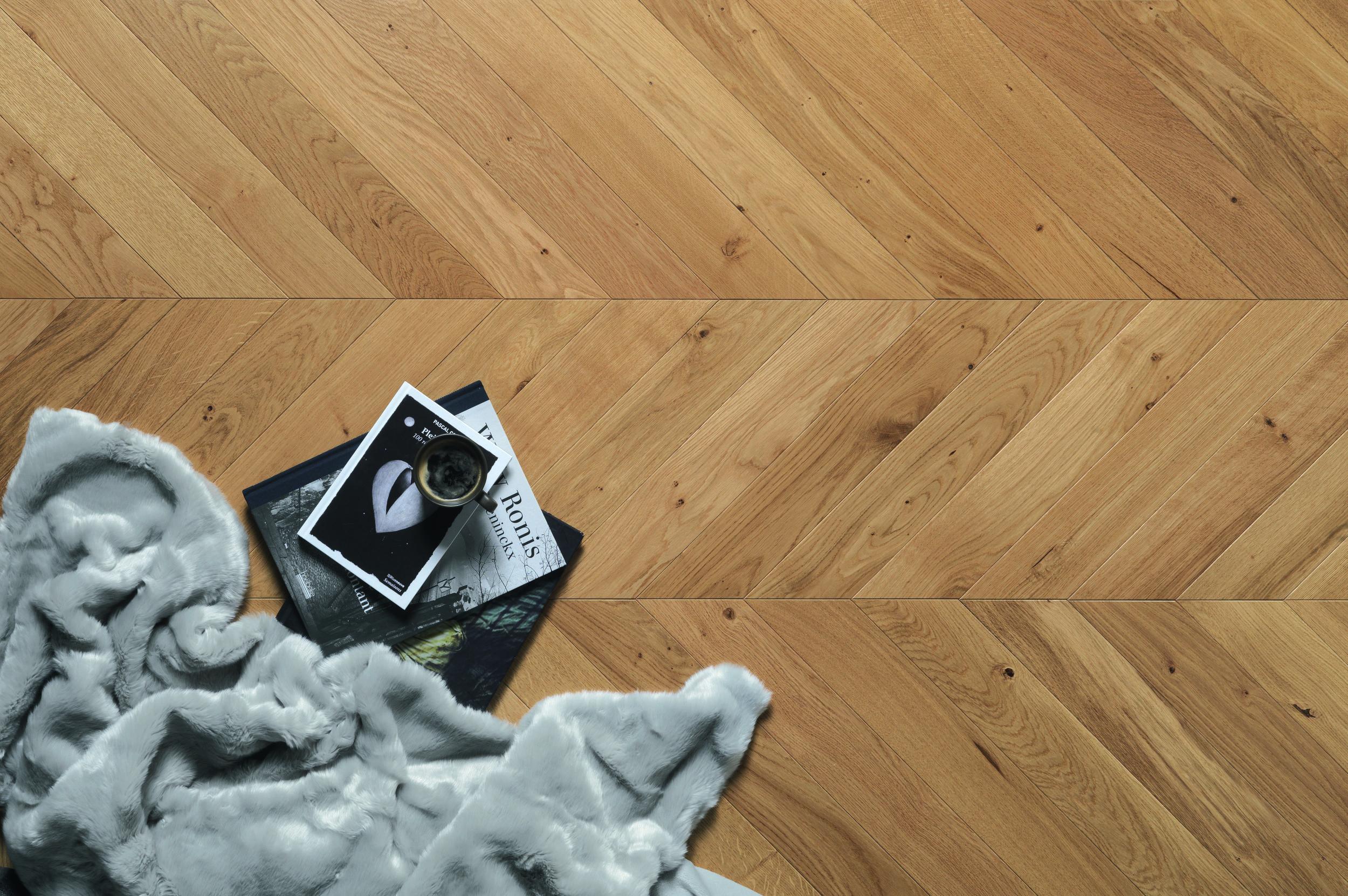 What is chevron flooring