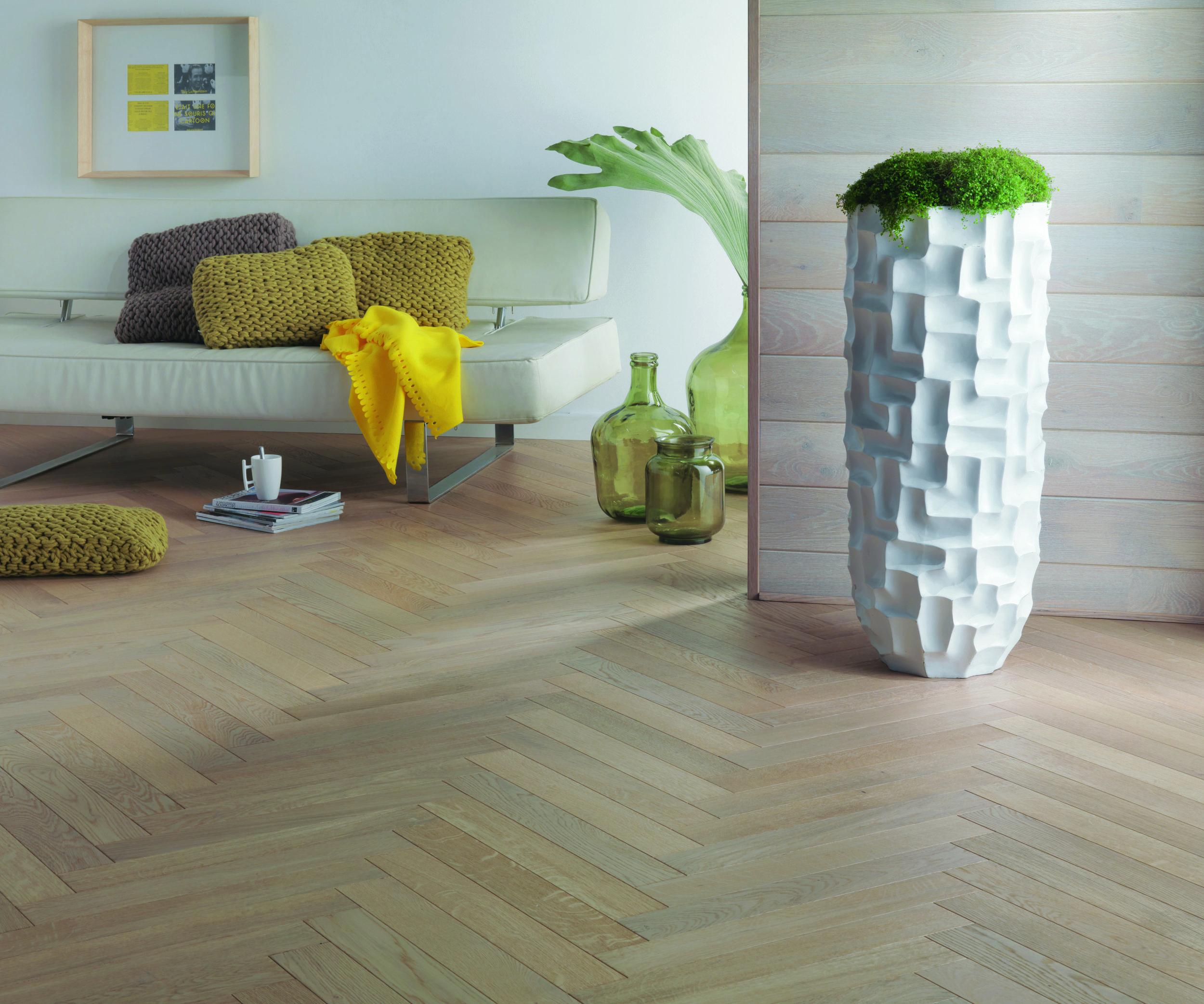 What is herringbone flooring
