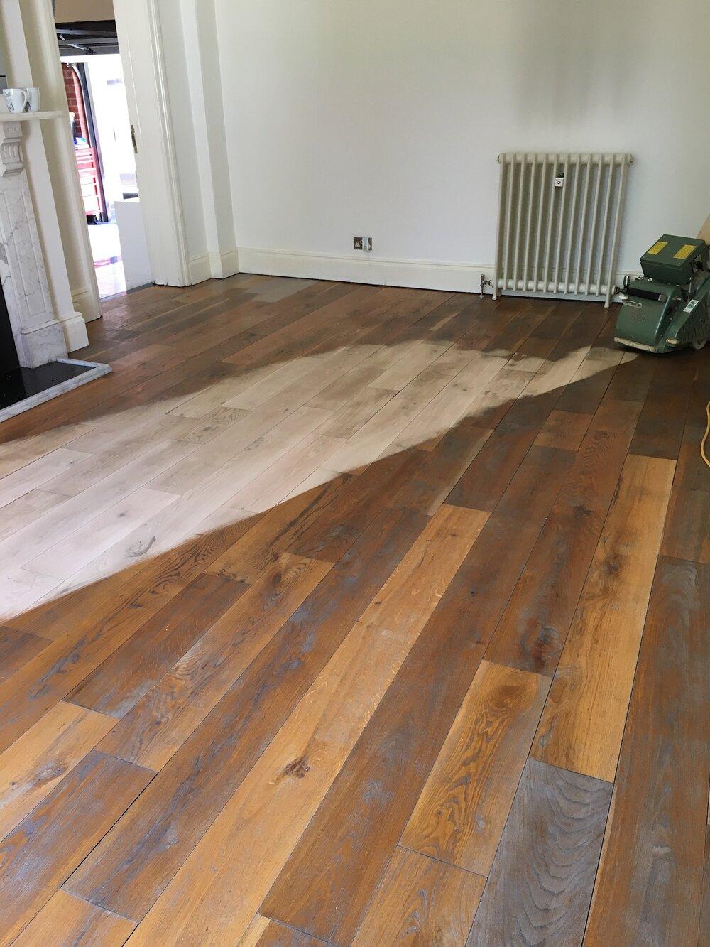 Refinishing Hardwood Flooring
