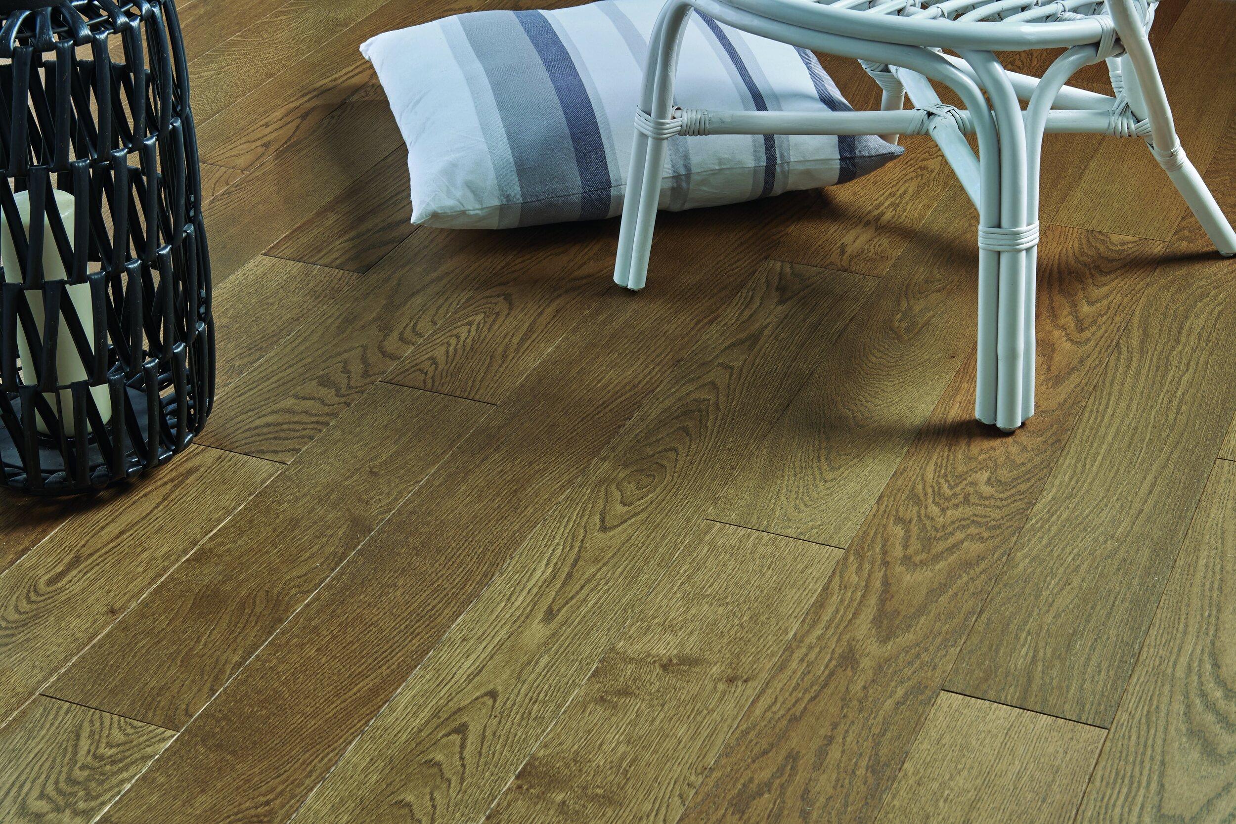 Textured Finish To Wood Flooring