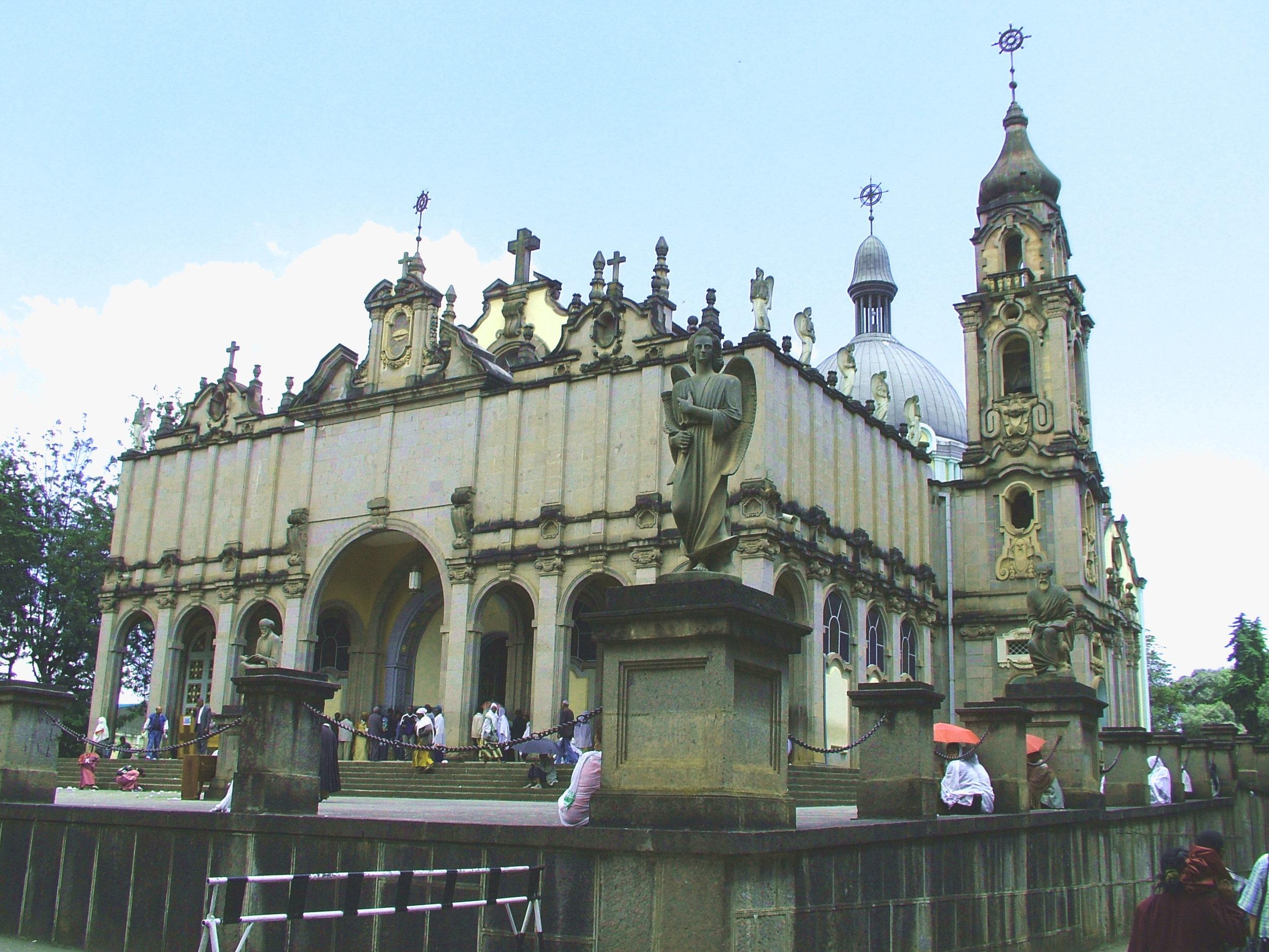 Selassie (trinity)Church in Addis Ababa.jpg