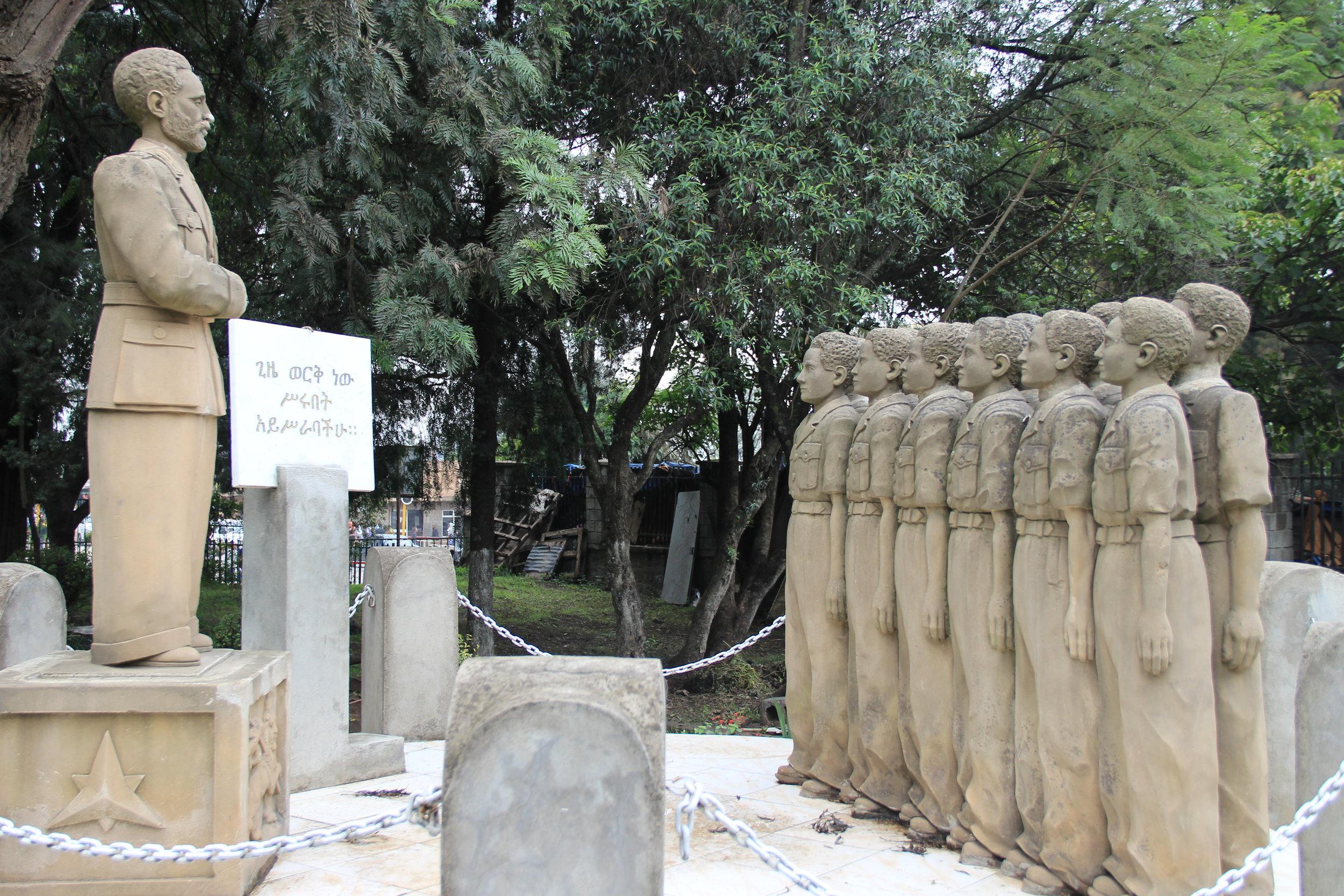 stachu or monument of emperior Haileselassie.JPG