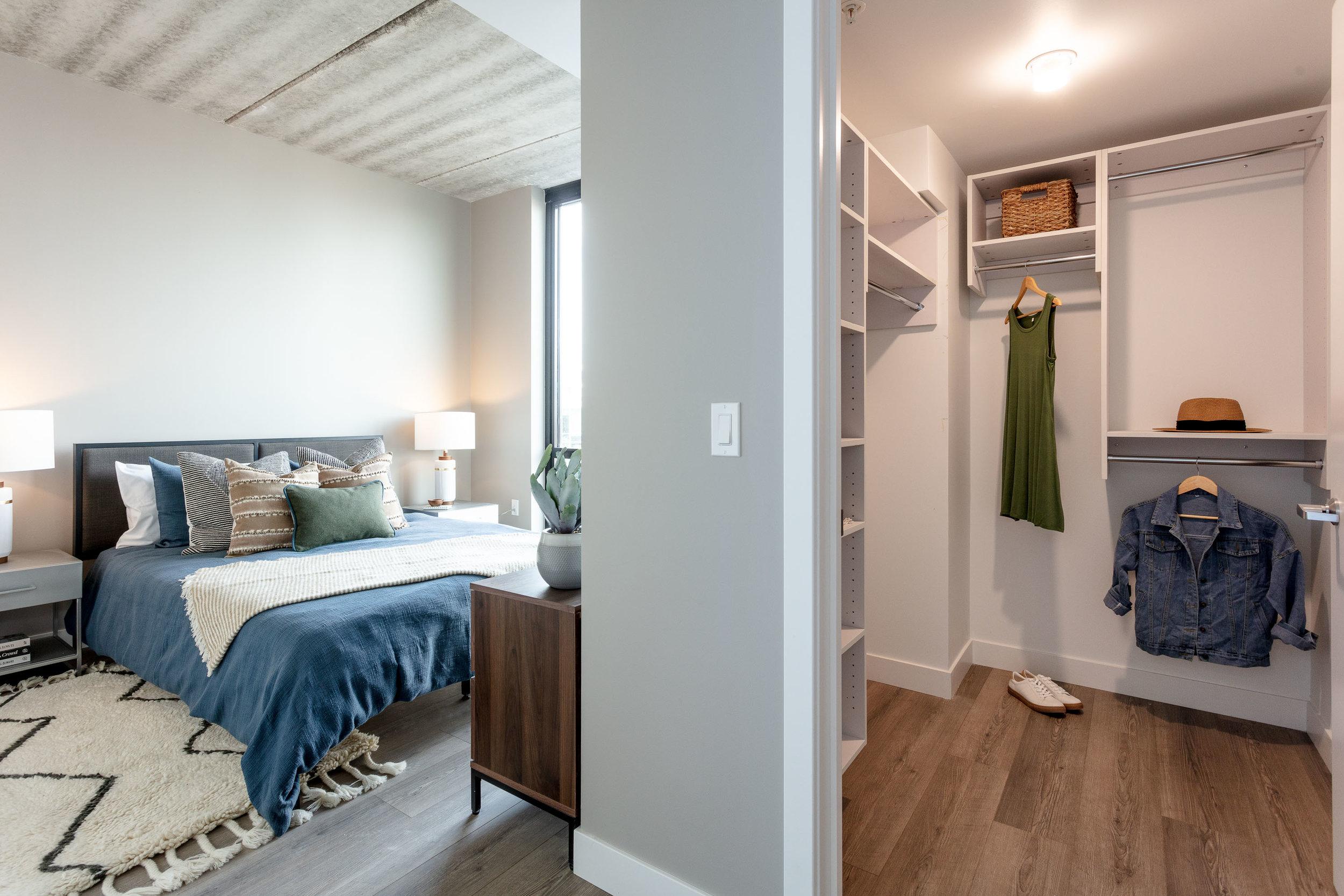THREE BEDROOMS -