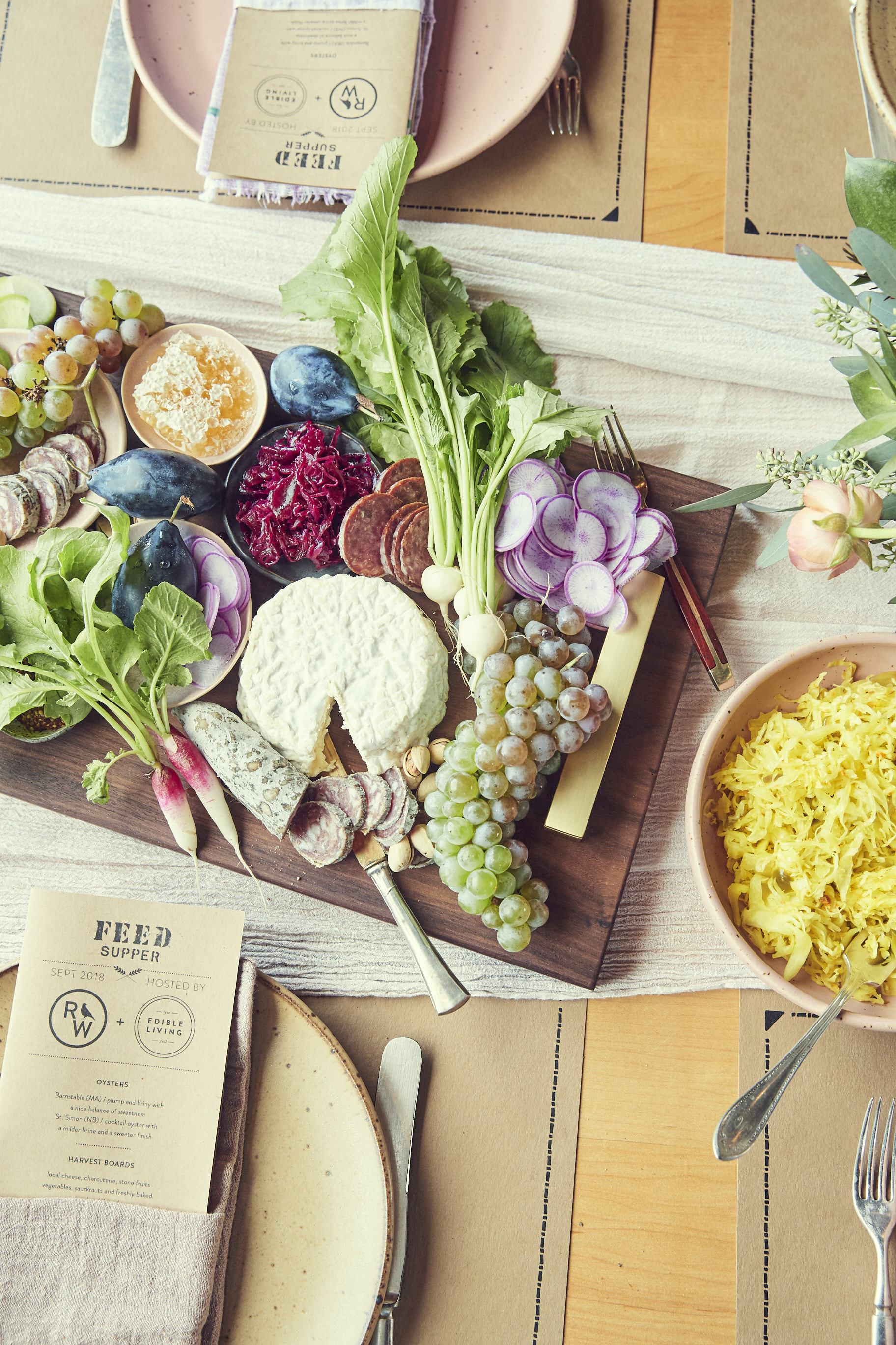 CHEESEBOARD STYLING by SARAH COPELAND  // CHEESEBOARD by HUDSON WORKSHOP
