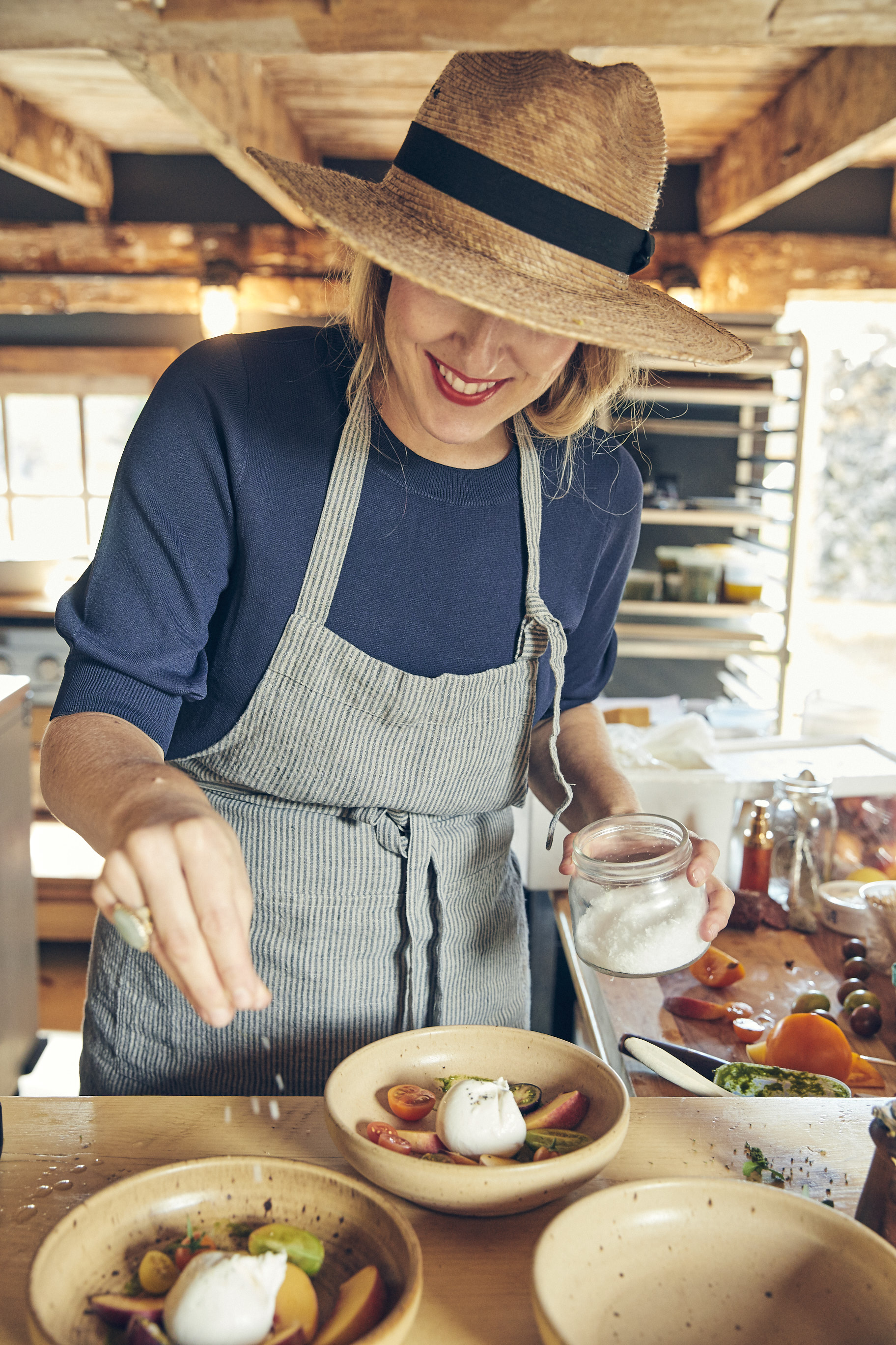 Cookbook Author Sarah Copeland's Dreamy Feed Supper at RAVENWOOD in Upstate New York #feedsupper #sarahcopeland