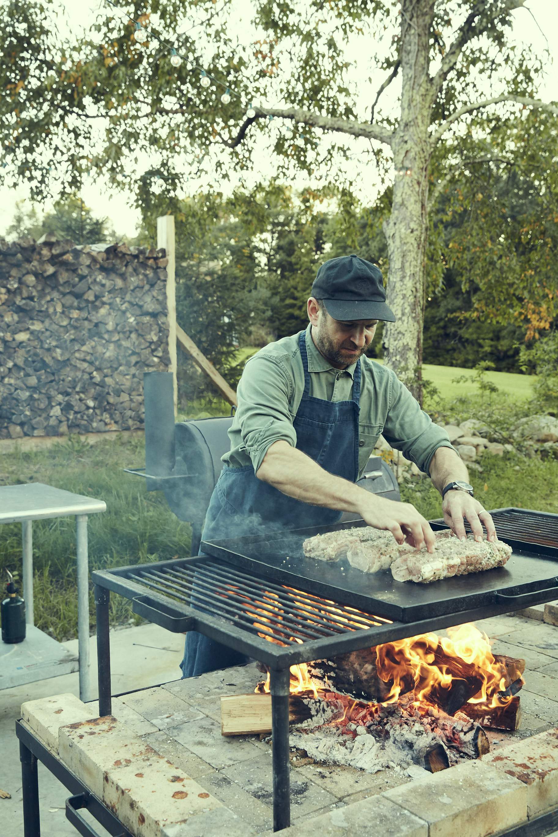 Chef Chris Lanier Live Fire Cooking  RAVENWOOD x FEED SUPPER